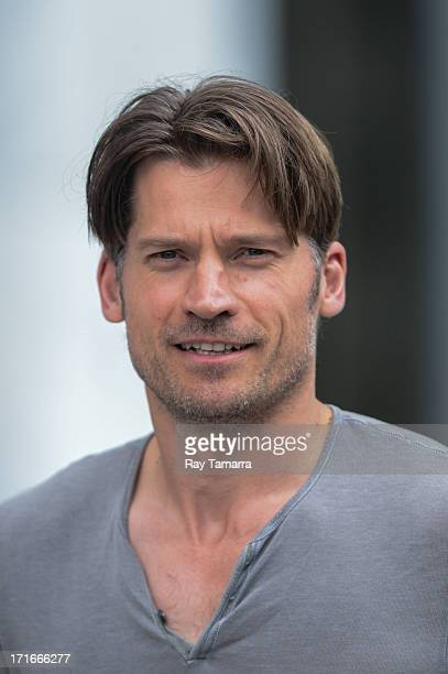 Actor Nikolaj CosterWaldau leaves a Midtown Manhattan Apple Store on June 27 2013 in New York City