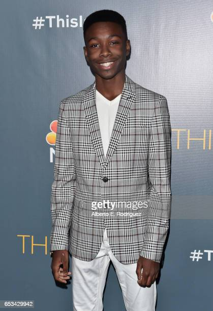 Actor Niles Fitch attends a screening of the season finale of NBC's 'This Is Us' at The Directors Guild Of America on March 14 2017 in Los Angeles...