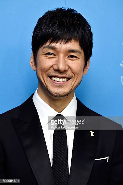 Actor Nishijima Hidetoshi attends the 'Creepy' photo call during the 66th Berlinale International Film Festival Berlin at Grand Hyatt Hotel on...