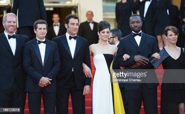 Actor Noah Emmerich director Guillaume Canet actor Clive Owen actress Marion Cotillard actor Jamie Hector and actress Lily Taylor attend the Premiere...
