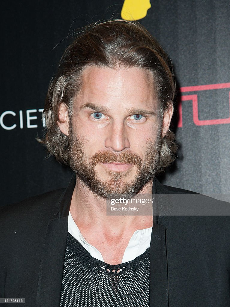 Actor Noah Huntley attends The Weinstein Company With The Cinema Society And Tumi Host A Screening Of 'This Must Be the Place' at Tribeca Grand Hotel on October 25, 2012 in New York City.