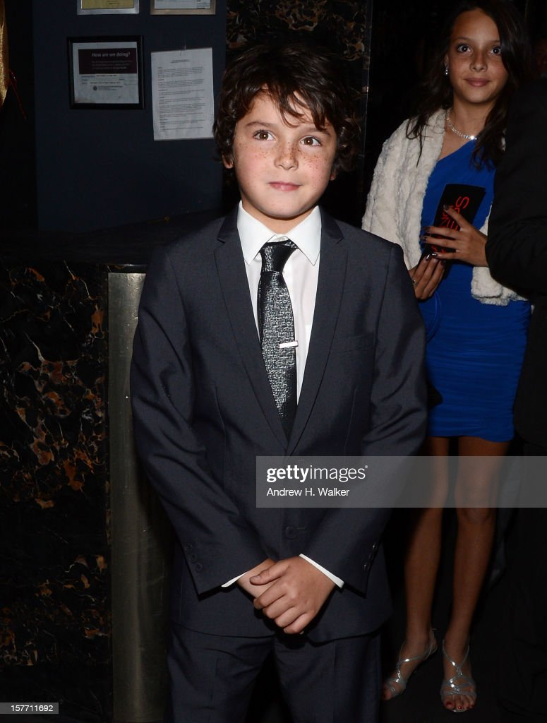 Actor Noah Lomax attends the Film District and Chrysler with The Cinema Society premiere of 'Playing For Keeps' after party at Dream Downtown on December 5, 2012 in New York City.