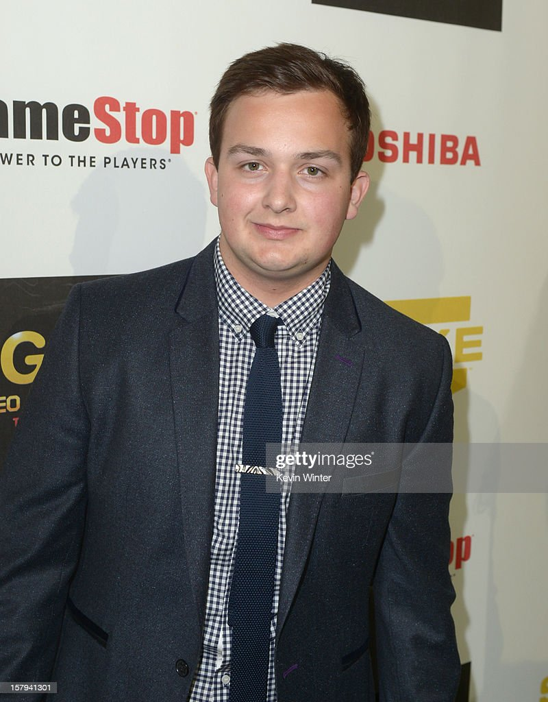 Actor Noah Munck arrives at Spike TV's 10th annual Video Game Awards at Sony Pictures Studios on December 7, 2012 in Culver City, California.