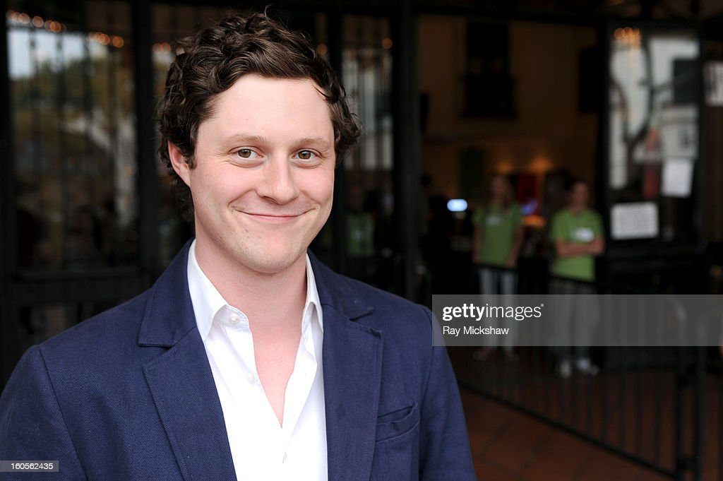 Actor Noah Reid of the film 'Old Stock' at the 28th Santa Barbara International Film Festival on February 2, 2013 in Santa Barbara, California.