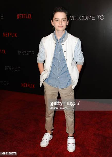 Actor Noah Schnapp attends the 'Stranger Things' FYC event at Netflix FYSee Space on June 6 2017 in Beverly Hills California