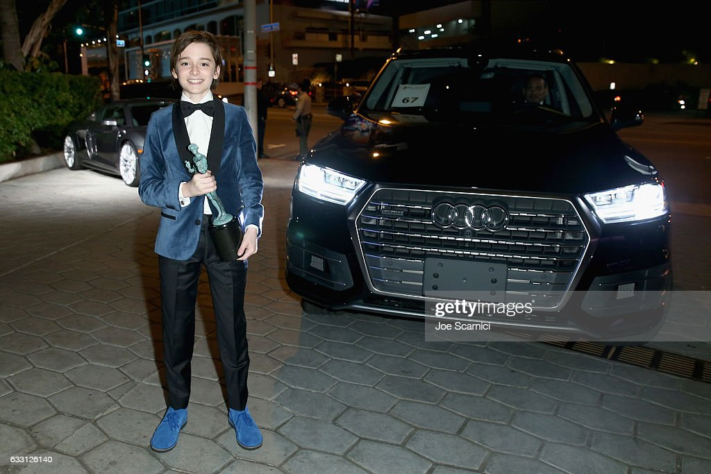 Actor Noah Schnapp attends The Weinstein Company & Netflix's SAG 2017 After Party presented by Audi at Sunset Tower Hotel on January 29, 2017 in West Hollywood, California.
