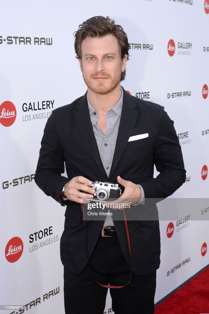 Actor Noah Segan attends G-Star RAW unveils RAW Leica at the Leica store opening on June 20, 2013 in West Hollywood, California.