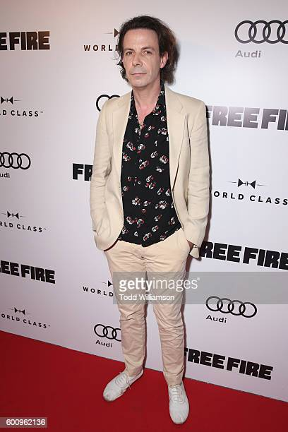 Actor Noah Taylor attends the 'Free Fire' premiere screening party hosted by Bulleit at Early Mercy on September 8 2016 in Toronto Canada
