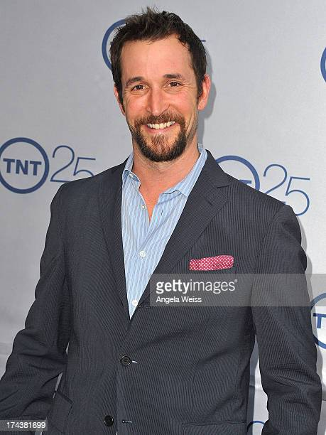 Actor Noah Wyle attends TNT's 25th Anniversary Party at The Beverly Hilton Hotel on July 24 2013 in Beverly Hills California