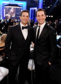 Actor Noah Wylie and Michael Wright President and head of programming for TNT TBS and Turner Classic Movies attend the 19th Annual Screen Actors...