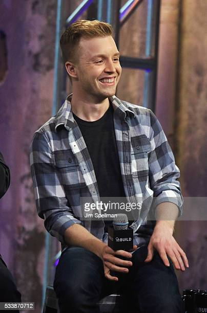 Actor Noel Fisher attends AOL Build Presents cast and director of 'TMNT 2' at AOL Studios on May 23 2016 in New York City