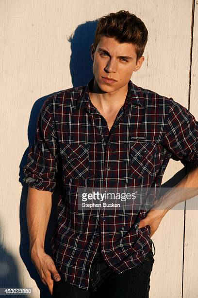 Actor Nolan Funk is photographed for Self Assignment on August 27 2013 in Hollywood California