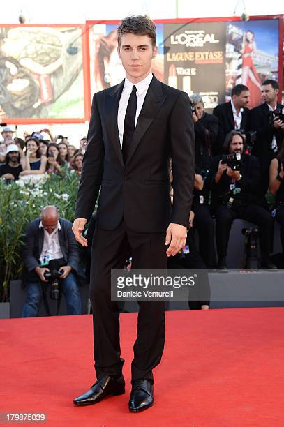 Actor Nolan Gerard Funk arrives at the closing ceremony of the 70th Venice International Film Festival at Palazzo del Cinema on September 7 2013 in...