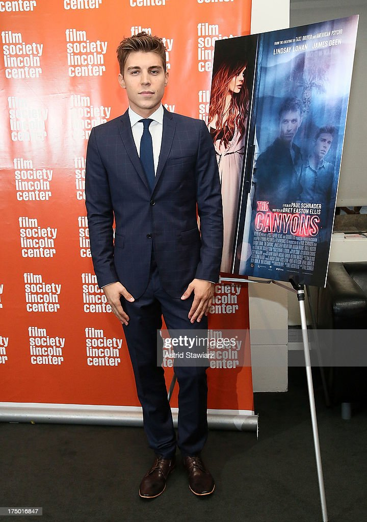 Actor Nolan Gerard Funk attends a screening of 'The Canyon' presented by Film Society of Lincoln Center at The Film Society of Lincoln Center, Walter Reade Theatre on July 29, 2013 in New York City.