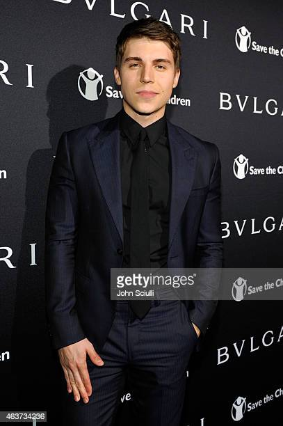 Actor Nolan Gerard Funk attends BVLGARI and Save The Children STOP THINK GIVE PreOscar Event at Spago on February 17 2015 in Beverly Hills California