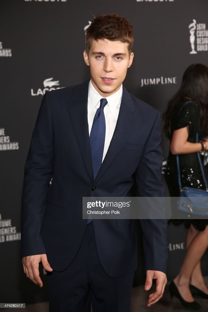 Actor <a gi-track='captionPersonalityLinkClicked' href=/galleries/search?phrase=Nolan+Gerard+Funk&family=editorial&specificpeople=5626391 ng-click='$event.stopPropagation()'>Nolan Gerard Funk</a> attends the 16th Costume Designers Guild Awards with presenting sponsor Lacoste at The Beverly Hilton Hotel on February 22, 2014 in Beverly Hills, California.
