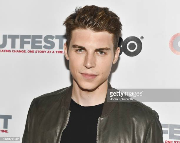 Actor Nolan Gerard Funk attends the 2017 Outfest Los Angeles LGBT Film Festival Screening of 'Hello Again' at DGA Theater on July 11 2017 in Los...