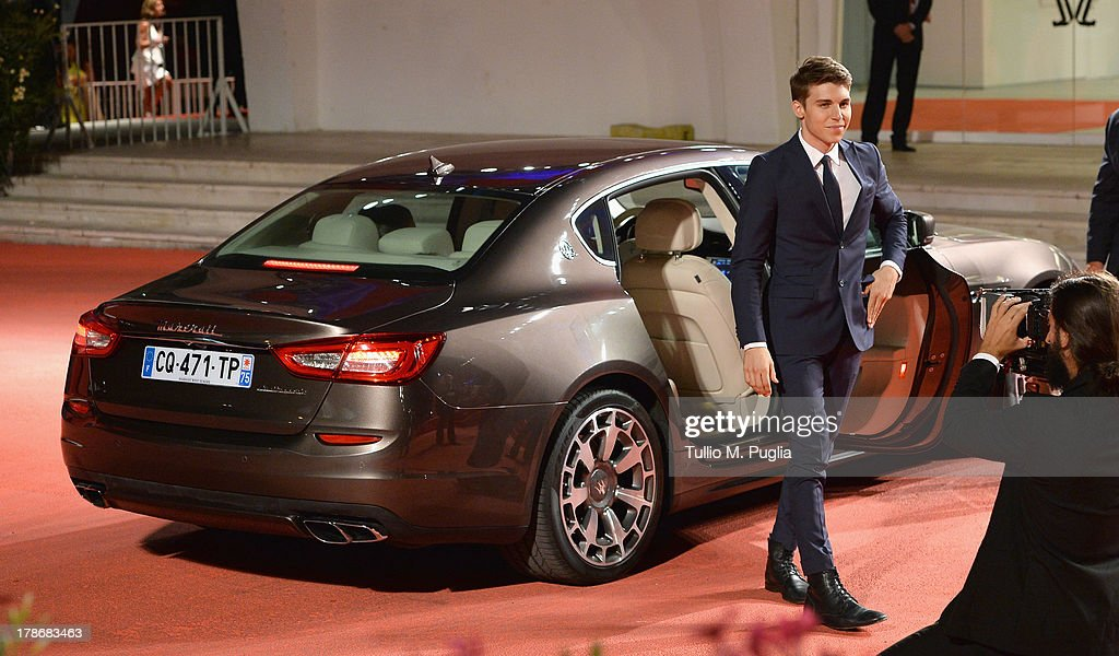 Actor <a gi-track='captionPersonalityLinkClicked' href=/galleries/search?phrase=Nolan+Gerard+Funk&family=editorial&specificpeople=5626391 ng-click='$event.stopPropagation()'>Nolan Gerard Funk</a> attends the 'The Canyons' Premiere during The 70th Venice International Film Festival at Palazzo Del Cinema on August 30, 2013 in Venice, Italy.