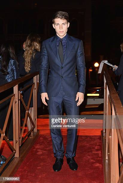 Actor Nolan Gerard Funk attends the Valentino Ball during the 70th Venice International Film Festival at at Palazzo Volpi on September 4 2013 in...
