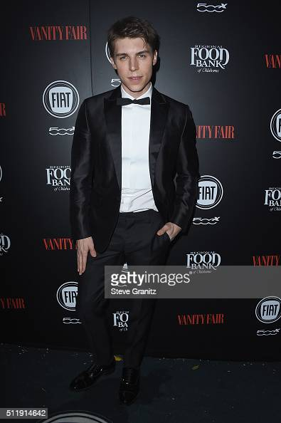 Actor Nolan Gerard Funk attends Vanity Fair and FIAT Toast To 'Young Hollywood' at Chateau Marmont on February 23 2016 in Los Angeles California