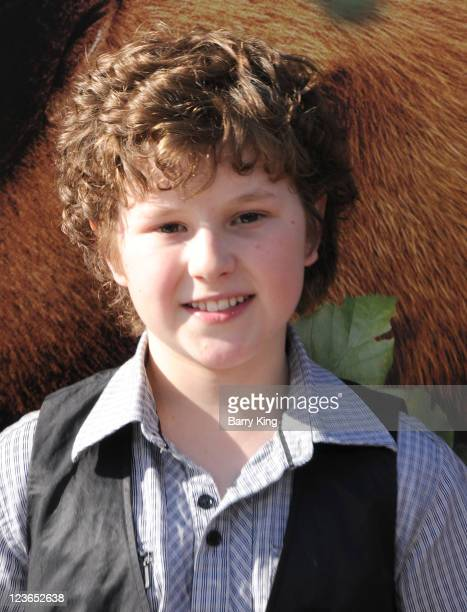 Actor Nolan Gould arrives at the Los Angeles premiere of 'Yogi Bear' held at Mann Village Theatre on December 11 2010 in Westwood California