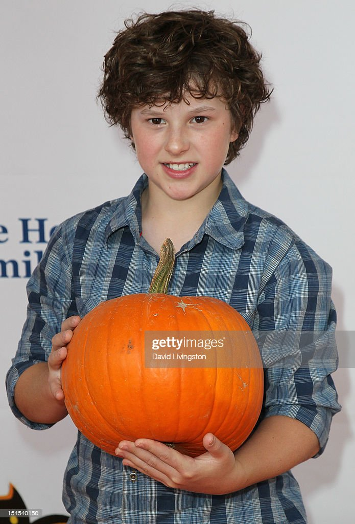 Actor <a gi-track='captionPersonalityLinkClicked' href=/galleries/search?phrase=Nolan+Gould&family=editorial&specificpeople=5691358 ng-click='$event.stopPropagation()'>Nolan Gould</a> attends Camp Ronald McDonald for Good Times 20th Annual Halloween Carnival at the Universal Studios Backlot on October 21, 2012 in Universal City, California.
