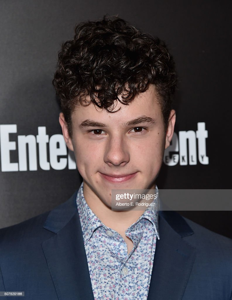 Actor <a gi-track='captionPersonalityLinkClicked' href=/galleries/search?phrase=Nolan+Gould&family=editorial&specificpeople=5691358 ng-click='$event.stopPropagation()'>Nolan Gould</a> attends Entertainment Weekly's celebration honoring THe Screen Actors Guild presented by Maybeline at Chateau Marmont on January 29, 2016 in Los Angeles, California.