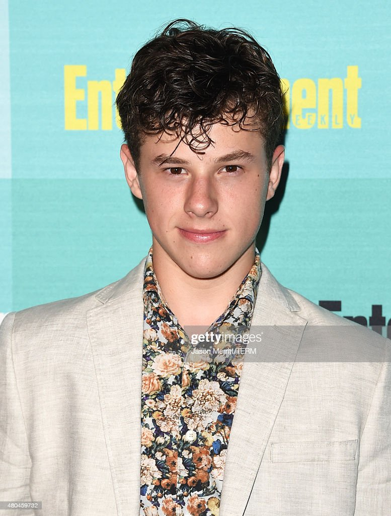 Actor <a gi-track='captionPersonalityLinkClicked' href=/galleries/search?phrase=Nolan+Gould&family=editorial&specificpeople=5691358 ng-click='$event.stopPropagation()'>Nolan Gould</a> attends Entertainment Weekly's Comic-Con 2015 Party sponsored by HBO, Honda, Bud Light Lime and Bud Light Ritas at FLOAT at The Hard Rock Hotel on July 11, 2015 in San Diego, California.