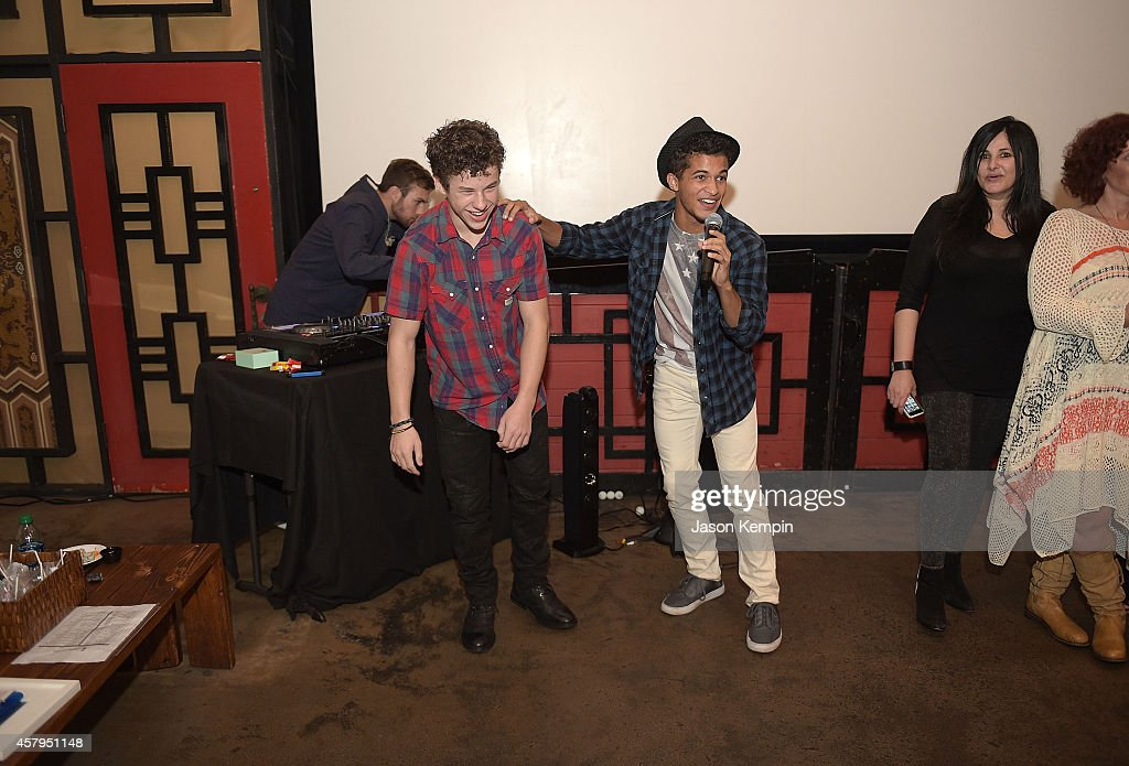 Actor <a gi-track='captionPersonalityLinkClicked' href=/galleries/search?phrase=Nolan+Gould&family=editorial&specificpeople=5691358 ng-click='$event.stopPropagation()'>Nolan Gould</a> attends his 16th birthday party held at Smogshoppe on October 26, 2014 in Los Angeles, California.