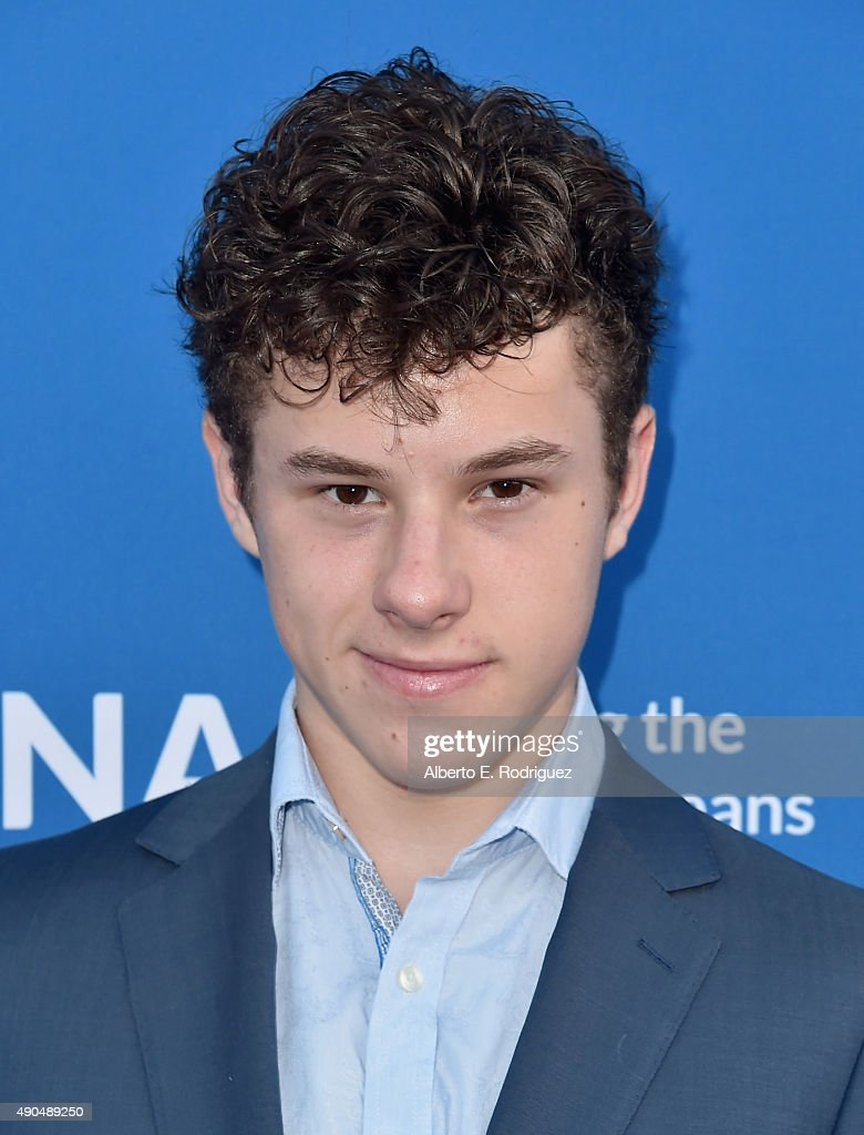Actor Nolan Gould attends the 'Concert For Our Oceans' hosted by Seth MacFarlane benefitting Oceana at The Wallis Annenberg Center for the Performing Arts on September 28, 2015 in Beverly Hills, California.