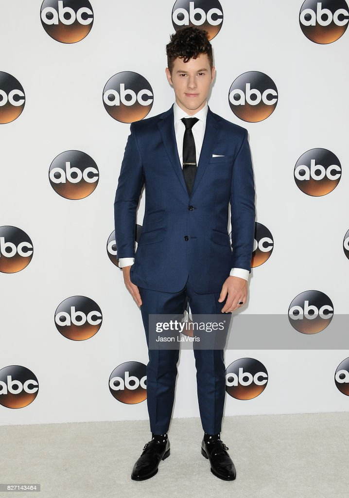 Actor Nolan Gould attends the Disney ABC Television Group TCA summer press tour at The Beverly Hilton Hotel on August 6, 2017 in Beverly Hills, California.
