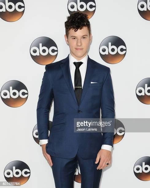 Actor Nolan Gould attends the Disney ABC Television Group TCA summer press tour at The Beverly Hilton Hotel on August 6 2017 in Beverly Hills...