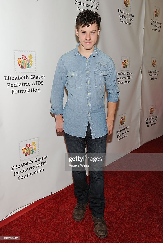 Actor Nolan Gould attends the Elizabeth Glaser Pediatric AIDS Foundation's 26th Annual A Time for Heroes family festival at Smashbox Studios on...