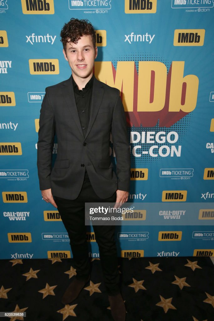 Actor Nolan Gould attends the #IMDboat Party at San Diego Comic-Con 2017, Presented By XFINITY on The IMDb Yacht on July 21, 2017 in San Diego, California.