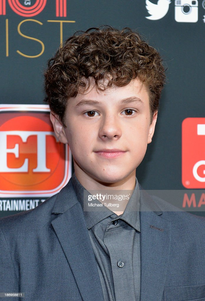 Actor <a gi-track='captionPersonalityLinkClicked' href=/galleries/search?phrase=Nolan+Gould&family=editorial&specificpeople=5691358 ng-click='$event.stopPropagation()'>Nolan Gould</a> attends TV Guide Magazine's Annual Hot List Party at The Emerson Theatre on November 4, 2013 in Hollywood, California.