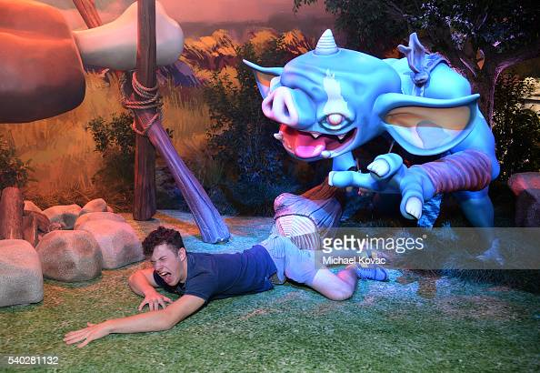 Actor Nolan Gould visits the Nintendo booth at the 2016 E3 Gaming Convention at Los Angeles Convention Center on June 14 2016 in Los Angeles CA