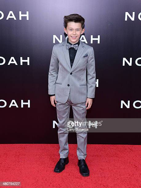 Actor Nolan Gross attends the New York premiere of Paramount Pictures' 'Noah' at the Ziegfeld Theatre on March 26 2014 in New York City