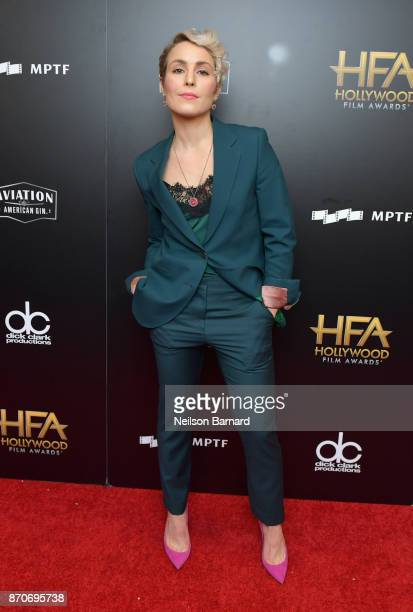 Actor Noomi Rapace poses in the press room during the 21st Annual Hollywood Film Awards at The Beverly Hilton Hotel on November 5 2017 in Beverly...