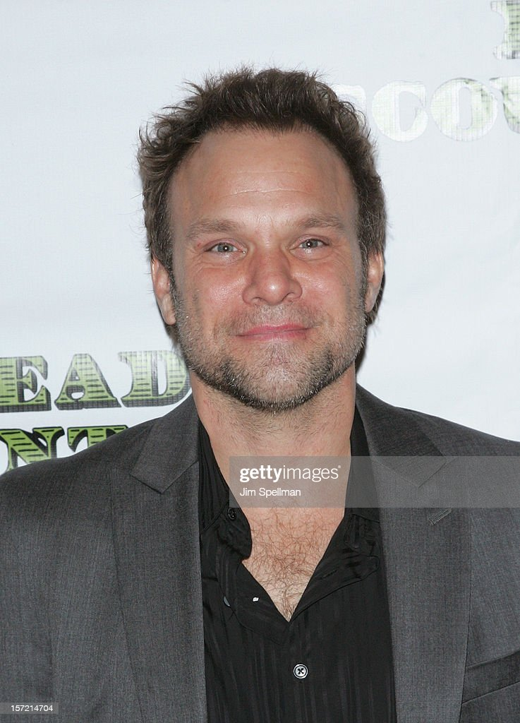 Actor <a gi-track='captionPersonalityLinkClicked' href=/galleries/search?phrase=Norbert+Leo+Butz&family=editorial&specificpeople=206859 ng-click='$event.stopPropagation()'>Norbert Leo Butz</a> attends 'Dead Accounts' Broadway Opening Night After Party at Gotham Hall on November 29, 2012 in New York City.
