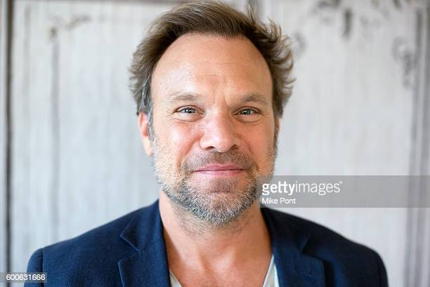 Actor Norbert Leo Butz attends the AOL Build Speaker Series to discuss 'Girls Girls Girls Live At 54 Below' at AOL HQ on September 8 2016 in New York...