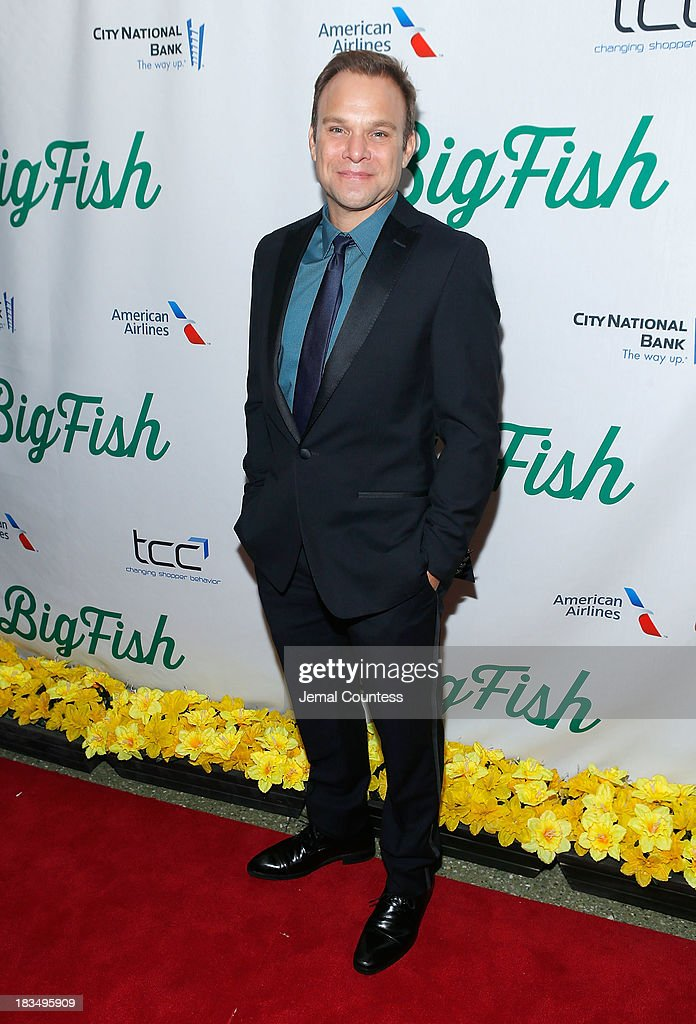 Actor Norbert Leo Butz attends the 'Big Fish' Broadway Opening Night After Party at Roseland Ballroom on October 6, 2013 in New York City.