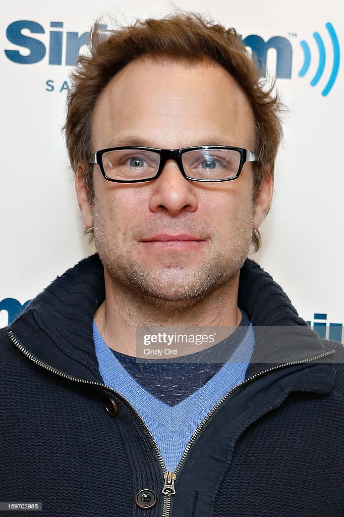 Actor <a gi-track='captionPersonalityLinkClicked' href=/galleries/search?phrase=Norbert+Leo+Butz&family=editorial&specificpeople=206859 ng-click='$event.stopPropagation()'>Norbert Leo Butz</a> visits the SiriusXM Studios on January 18, 2013 in New York City.