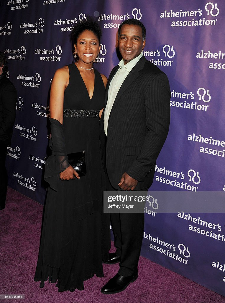 Actor Norm Lewis arrives at the 21st Annual 'A Night At Sardi's' to benefit the Alzheimer's Association at The Beverly Hilton Hotel on March 20, 2013 in Beverly Hills, California.