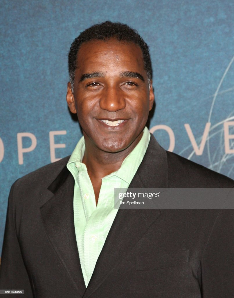 Actor Norm Lewis attends the 'Les Miserables' New York Premiere at Ziegfeld Theatre on December 10, 2012 in New York City.