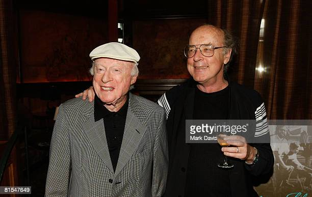 Actor Norman Lloyd and producer Tom Luddy at 'An Evening With The Telluride Film Festival' held at Chateau Marmont June 12 2008 in Hollywood...