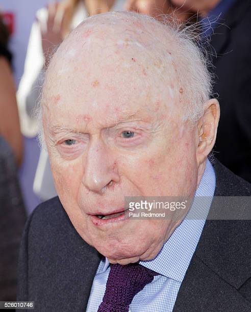 Actor Norman Lloyd arriving at the TCM Classic Film Festival 2016 Opening Night Gala 40th Anniversary Screening Of 'All The President's Men' at TCL...
