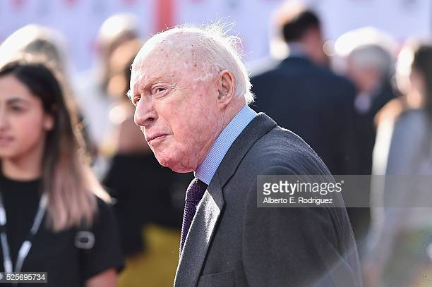 Actor Norman Lloyd attends 'All The President's Premiere' during the TCM Classic Film Festival 2016 Opening Night on April 28 2016 in Los Angeles...