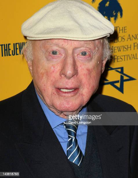 Actor Norman Lloyd attends the 7th Annual Los Angeles Jewish Film Festival Premiere of 'Tony Curtis Driven to Stardom' at the Writers Guild Theater...