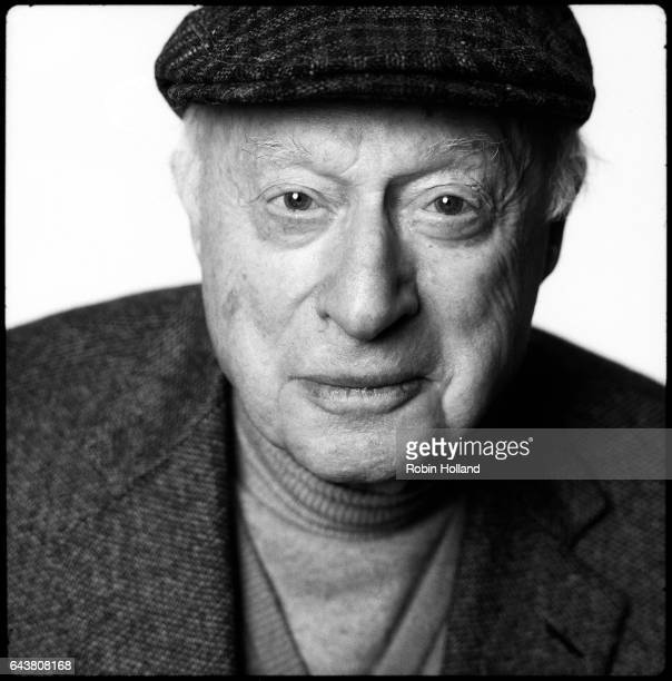 Actor Norman Lloyd photographed for the Film Forum Cinema on November 27 2007 in New York City