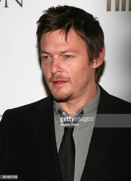 Actor Norman Reedus arrives for the Los Angeles premiere of 'The Boondock Saints II All Saints Day' at ArcLight Cinemas on October 28 2009 in...